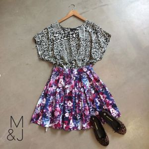 Good Clothing top, Georgia B skirt