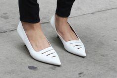 Pointy Kitten Heels